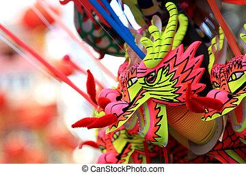 BANGKOK - JANUARY 23 : Chinese New Year 2012 - Dragons for...