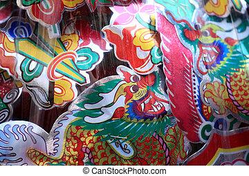 BANGKOK - JANUARY 23 : Chinese New Year 2012 - Dragons in Chinatown, Bangkok, Thailand