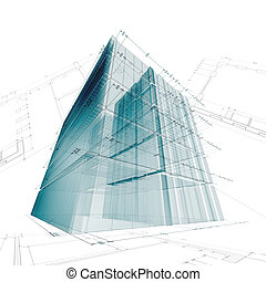 Architecture engineering. My personal concept architectural...