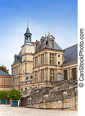 France, Fontainebleau palace