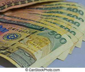 Philippine 500 peso bill