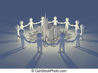 City circle