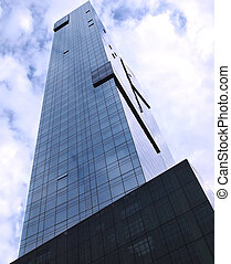 VeryTall Building - Looking up into the sky towards the top...