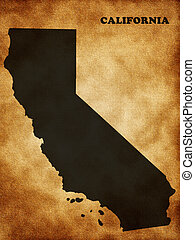 Map the State of California