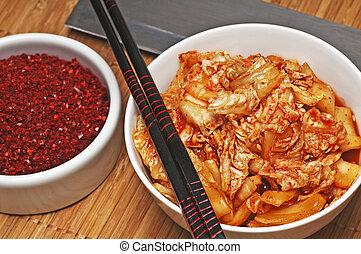 Kimchi with kimchi spice - korean Kimchi