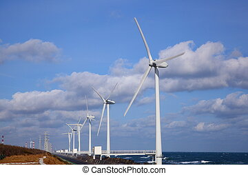 Wind power generation - Wind power generation, Clean energy,...
