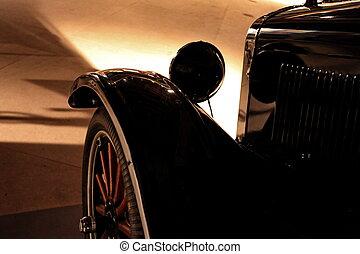 retro car - Al Capone automobile