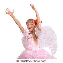 Angel little girl.