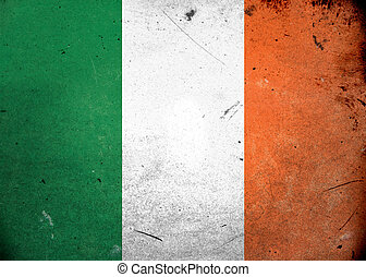 Grunge Flag of Ireland
