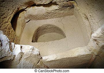 Ancient baptismal font, Cappadocia - Ancient baptismal font...