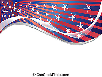 Vector background with few star; clip-art