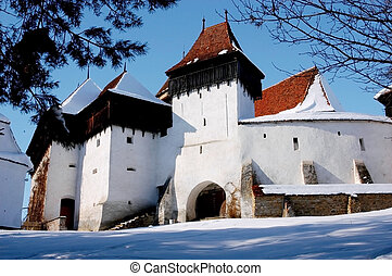 Fortified church of Viscri, Romania - Fortified church of...