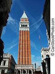 The campanile di San Marco, Venice - The campanile di San...