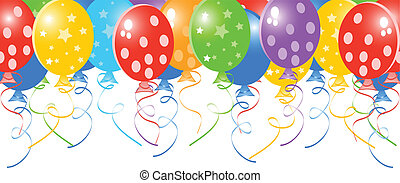 Vector celebration background; clip-art