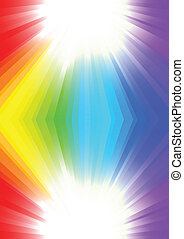 Vector background in rainbow color