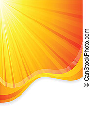 Vector orange background; clip-art