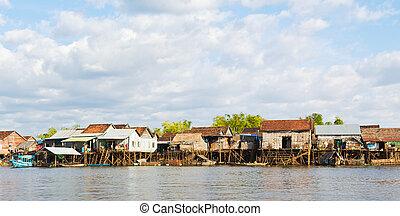 Kampong Kleang at Tonle Sap Lake - Kampong Kleang is a...