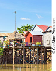 Kampong Kleang at Tonle Sap Lake - Kampong Kleang is a...