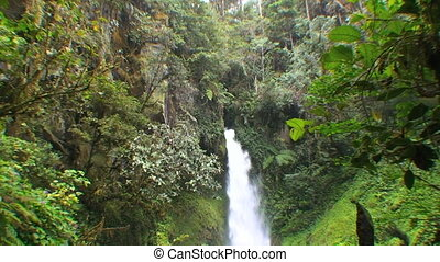 Ambua waterfalls - Papua New Guinea, Highland territory at...