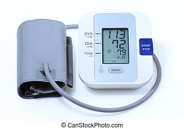 Blood pressure monitor - Modern electronic blood pressure...