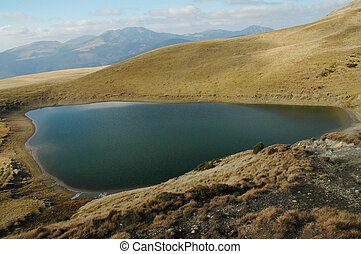 Lake in Maramures mountain, Romania - Lake in Maramures...