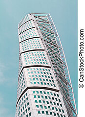 Turning Torso in Malmo Sweden