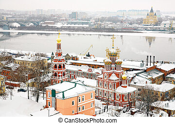 Stroganov Church and Cathedral Alexander Nevsky Nizhny...