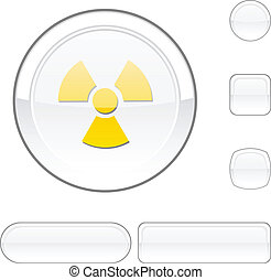 Radiation white button.