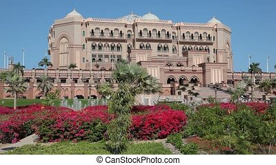 Emirates Palace in Abu Dhabi, United Arab Emirates