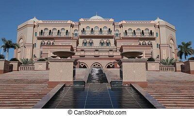 Emirates Palace in Abu Dhabi - Emirates Palace in Abu Dhabi,...