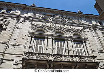 Palace of the Poste. Parma. Emilia- Romagna. Italy.