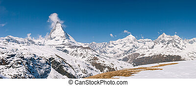 Panorama Matterhorn Switzerland
