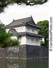 Imperial Palace Tokyo - Tatsumi-yagura is one of the 3...