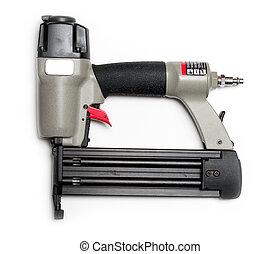 Brad nail gun - Brad nailer or nail gun