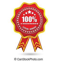 Premium Quality Badge - illustration of glossy badge for...