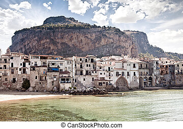 Old fishing town Cefalu