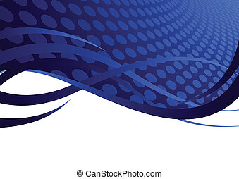 Vector background with circle