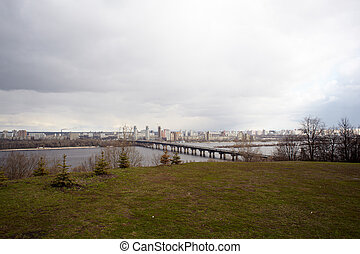 Dnieper river, Kiev - Viev of Dnieper river, Kiev - Ukraine