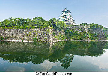 Osaka Castle - Reconstruction of a great castle of famous...