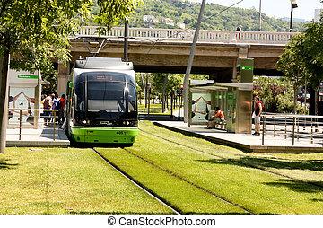 tranvía, estación