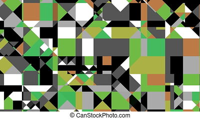 Flickering abstraction - The abstraction flickers different...