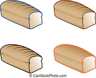 Bread Loaf Icons