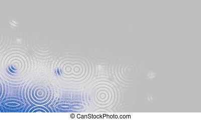 Rings in a fog