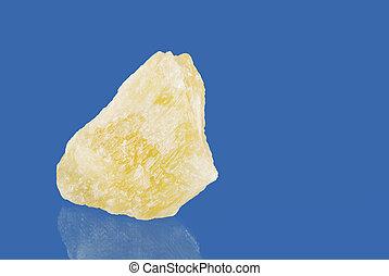 Orange Calcite - Macro of an orange calcite quartz