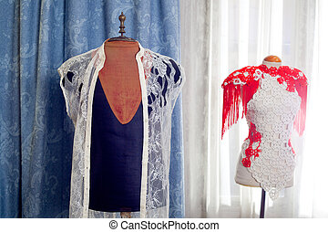dressmakers and taylor mannequin fashion