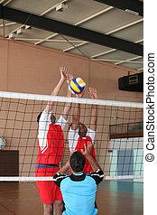 voleibol, Jogo