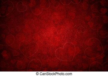 rouges, fond