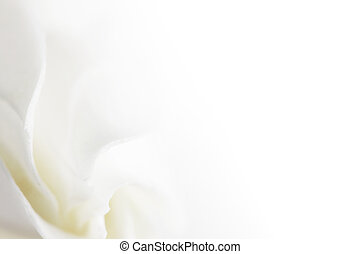 soft white flower background with empty space