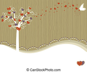 Tree of Love - greeting card