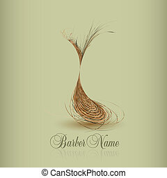 hair symbol for your design. vector illustration